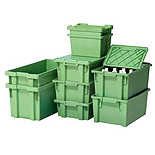 Stacking and Nesting Containers