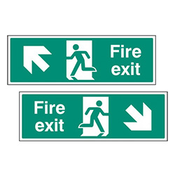 Directional Exit Signs