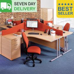 Chicago Cantilever Office Desks