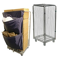 Roll Containers, Cages & Roll Pallets
