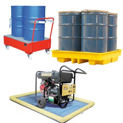 Sump Pallets & Spill Trays