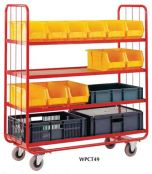 Container Shelf Trolley