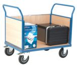 Snag-Free Platform Trucks - Double Panel Ended with One Side