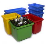 Polyethylene Mobile Bar Trucks / Bottle Skips