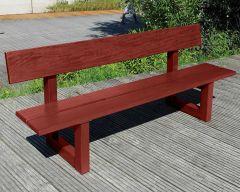 Exotic Hardwood Mahogany Bench