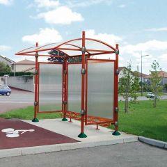Decorative Aluminium Shelter