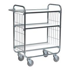 Order Picking Trolleys - 3 Shelves