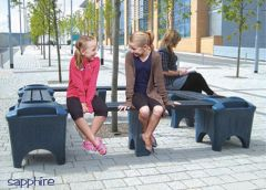 Modular Bench Seating - Sapphire