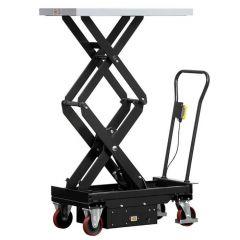 500kg Electric Double Scissor Lift Trolley