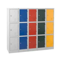 Atlas School Lockers - 1372mm High
