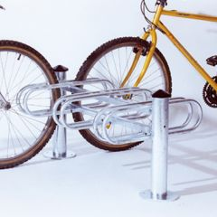 6 Cycle, Double Sided Cycle Rack