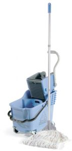 2 Compartment Mopping Trolleys