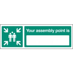 Your assembly point is (blank)