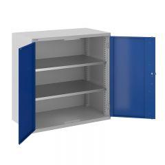 ToolStor W1000 x D550mm 2 Shelf Cupboard - Blue Doors
