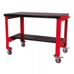 Sealey Mobile Workbench 2 Shelf