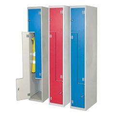 Laminate Z-Door Lockers