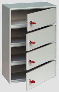 4 Storage Compartments