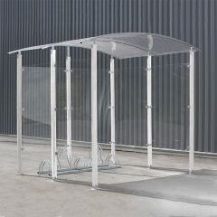 50140009 Steel Pillar Cycle Shelter