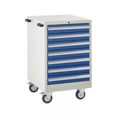 600 Euroslide Mobile Cabinets - 7 Drawers.