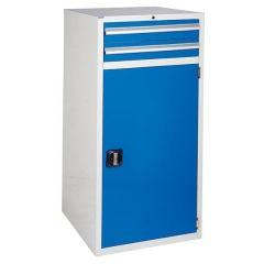600 XL Euroslide 2 Drawer Cabinets - Blue