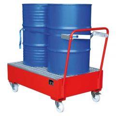 Mobile Retention Basin, 2x 200L drums