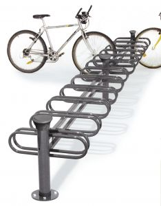 6 Space Double Sided - Forum Decorative Bicycle Rack