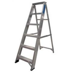 6 Tread Swing Back Aluminium Step Ladder