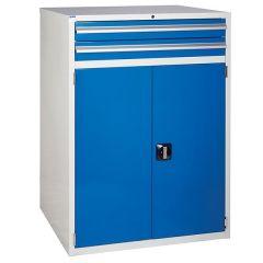 900 XL Euroslide 2 Drawer Cabinet - Blue