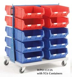 Double Sided Louvre Panel Trolley Kits