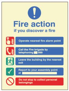 Fire Action - Manual without Lift