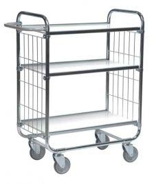 Flexible Ladder Trolley - 2 Shelves