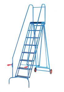 Folding Mobile Warehouse Safety Steps