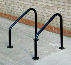 Black Galvanised Frankton Cycle Stands