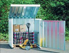 Galvanised Storage Containers