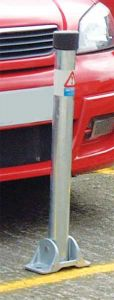 Hinged Lockable Parking Posts