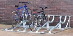 Horizontal Cycle Racks