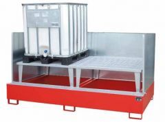 IBC Sump Pallet for 2x 1000L Bunds
