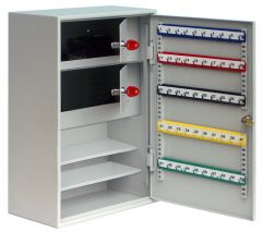 Key Control Cabinet with 2 Storage Compartments