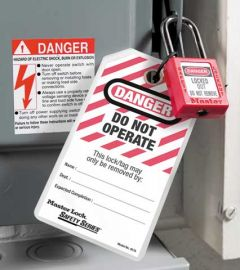 Lockout Cabinet Tags