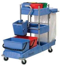 Mopping and Cleaning Trolley