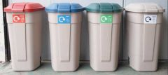 Recycling Centre - Plastics, Paper, Glass & General Waste