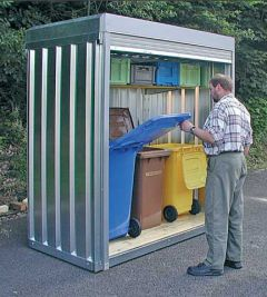 Roller Shutter Container
