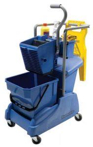 Single Mop Mopping Trolley
