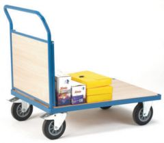 Snag-Free Platform Trucks - Single Panel Ended