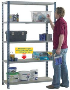 Standard Duty Boltless Shelving