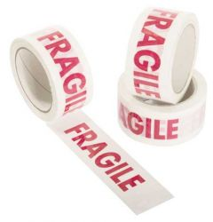 Text Printed Tape - FRAGILE