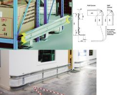Warehouse Galvanised Barrier Rails