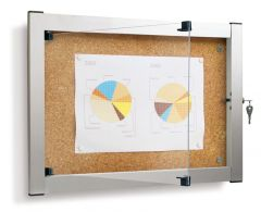 A3 Indoor Lockable Notice Board, WP504220