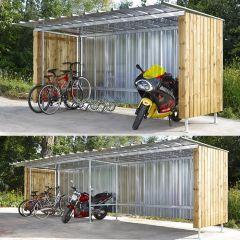 Alpine Modular Bicycle Shelter