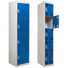 Armour Tool & Battery Charging Lockers - solid or perforated doors